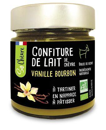 MADE IN FRANCE BOX CONFITURE DE LAIT DE CHEVRE VANILLE BOURBON