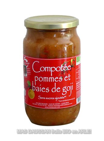 MADE IN FRANCE BOX Compotée de pommes-baies de goji