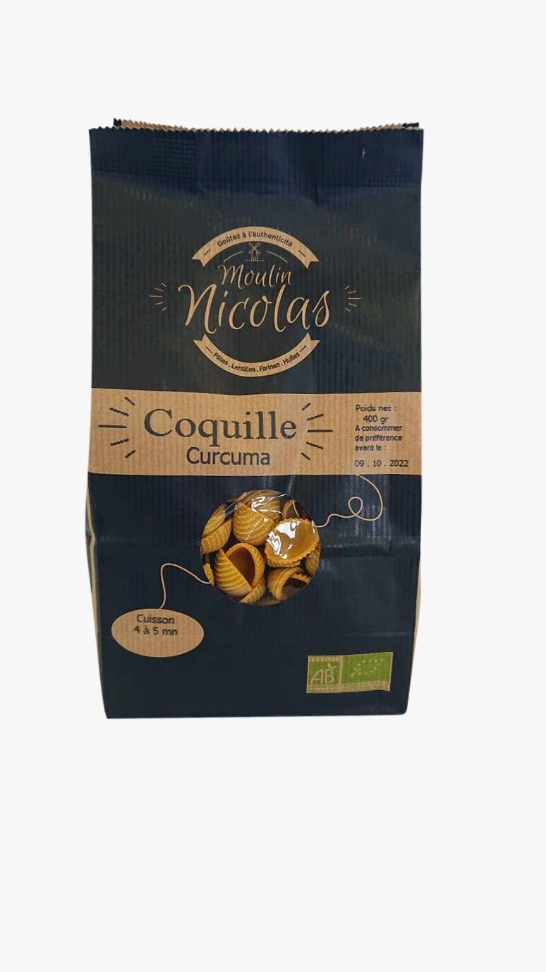 MADE IN FRANCE BOX Coquille Curcuma