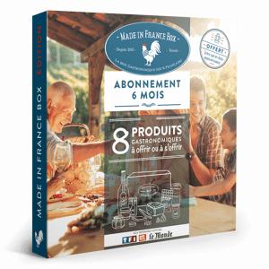 MADE IN FRANCE BOX Coffret Cadeau Abonnement 6 mois - Publicité