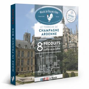 MADE IN FRANCE BOX Coffret cadeau Le Terroir de Champagne Ardennes - Publicité