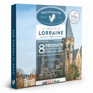 MADE IN FRANCE BOX Coffret cadeau Le Terroir de Lorraine - Publicité