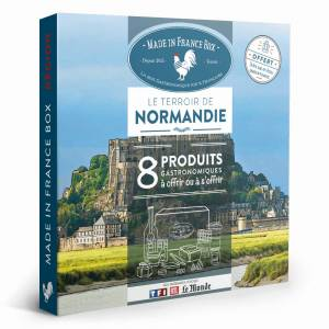 MADE IN FRANCE BOX Coffret cadeau Le Terroir de Normandie - Publicité