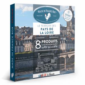 MADE IN FRANCE BOX Coffret cadeau Le Terroir des Pays de La Loire - Publicité