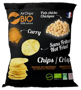 MADE IN FRANCE BOX Chips pois chiche & curry