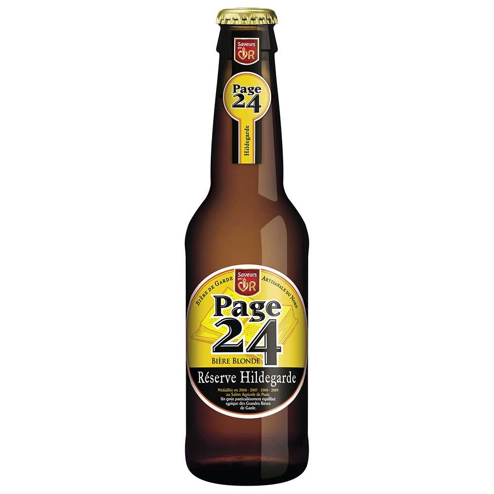 MADE IN FRANCE BOX Bière blonde Réserve Hildegarde