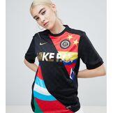 Nike - F.C. - Maillot de foot à rayures - Multi