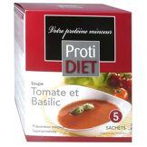 Protidiet soupe tomate et basilic 5 sachets