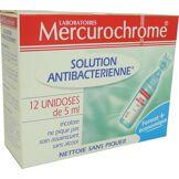 Mercurochrome solution antibacterienne 12*5ml
