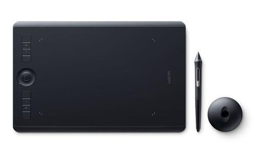 WACOM Intuos Pro tablette graphique 5080 lpi 224 x 148 mm USB/Bluetooth Noir