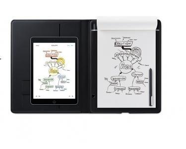 WACOM Bamboo Folio Small 140 x 216mm USB Gris tablette graphique