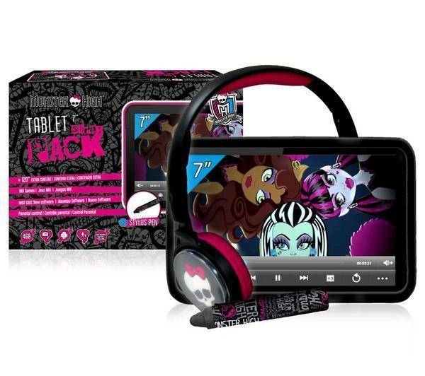 INGO Tablette Monster High + Pack accessoires - 7 pouces