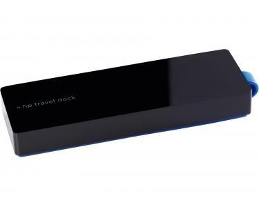 HP USB-C Travel Dock USB 3.0 (3.1 Gen 1) Type-C Noir station d'accueil