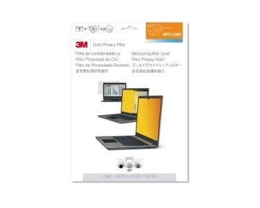3M Filtre de confidentialité Gold GPF12.5W9 pour ordinateur portable à écran LCD panoramique 12,5 pouces