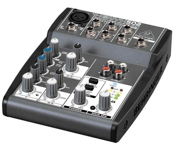 BEHRINGER Table de mixage XENYX 502