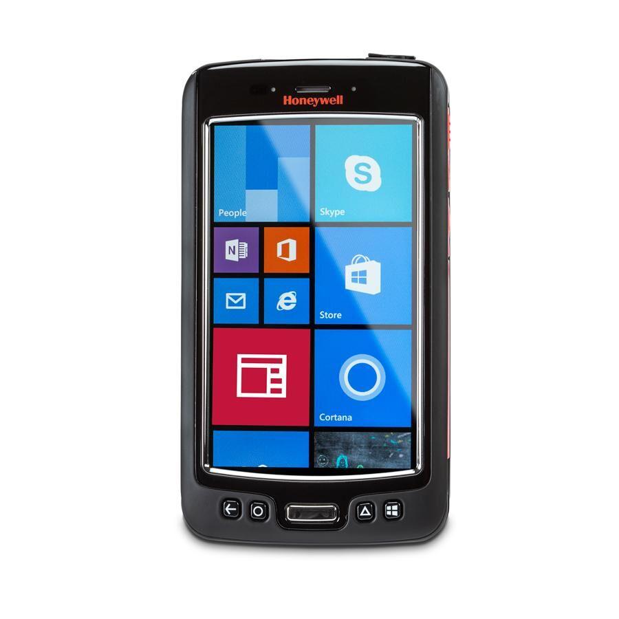 """HONEYWELL Dolphin 75e ordinateur portable de poche 10,9 cm (4.3"""") 480 x 800 pixels Écran tactile 244 g Noir, Orange, Argent"""
