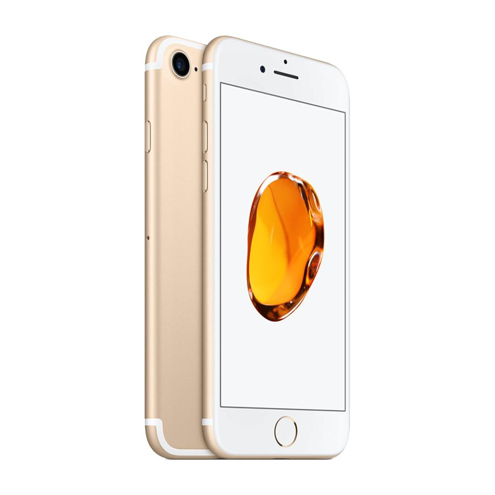 APPLE Smartphone iPhone 7 32 Go Or 4G-LTE Advanced IP67 - A10 Fusion Quad-Core 2.3 GHz - RAM 2 Go - Ecran Retina 4.7' 750 x 1334 - 32 Go - NFC/Bluetooth 4.2 - iOS 10