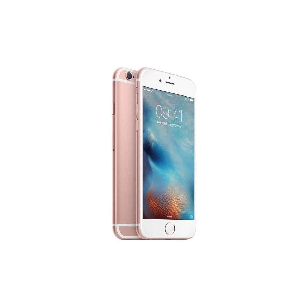 APPLE iPhone 6s Plus - 128 Go - Or rose