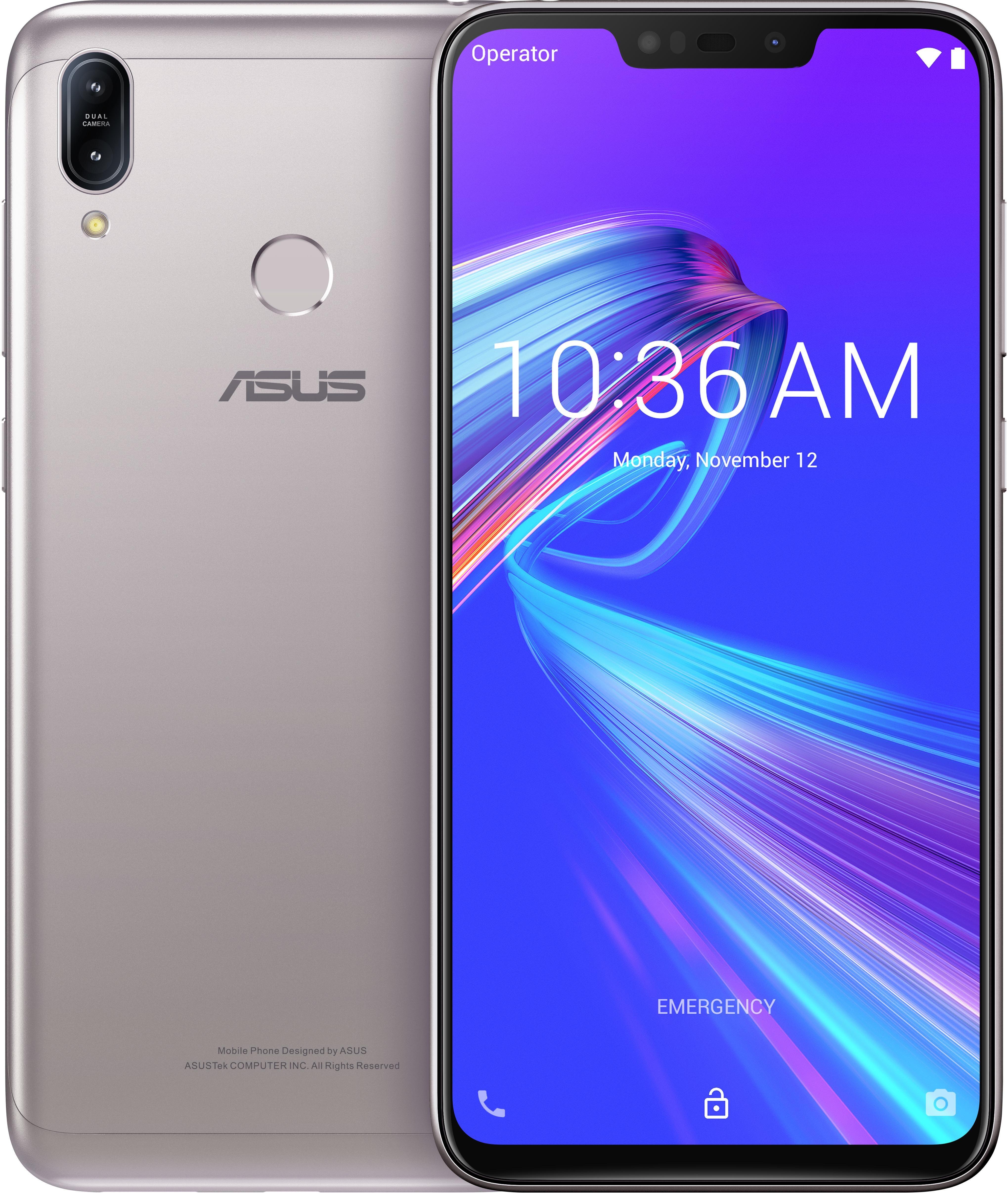 """ASUS ZenFone Max ZB633KL-4J072EU 16 cm (6.3"""") 4 Go 32 Go Double SIM 4G Argent 4000 mAh"""