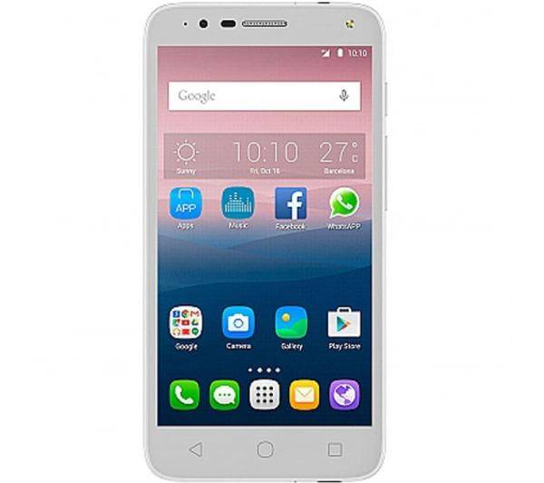 "ALCATEL POP 4 (5"") Blanc"