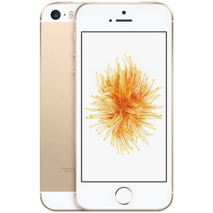 APPLE iPhone SE - 64GB - Or Rose