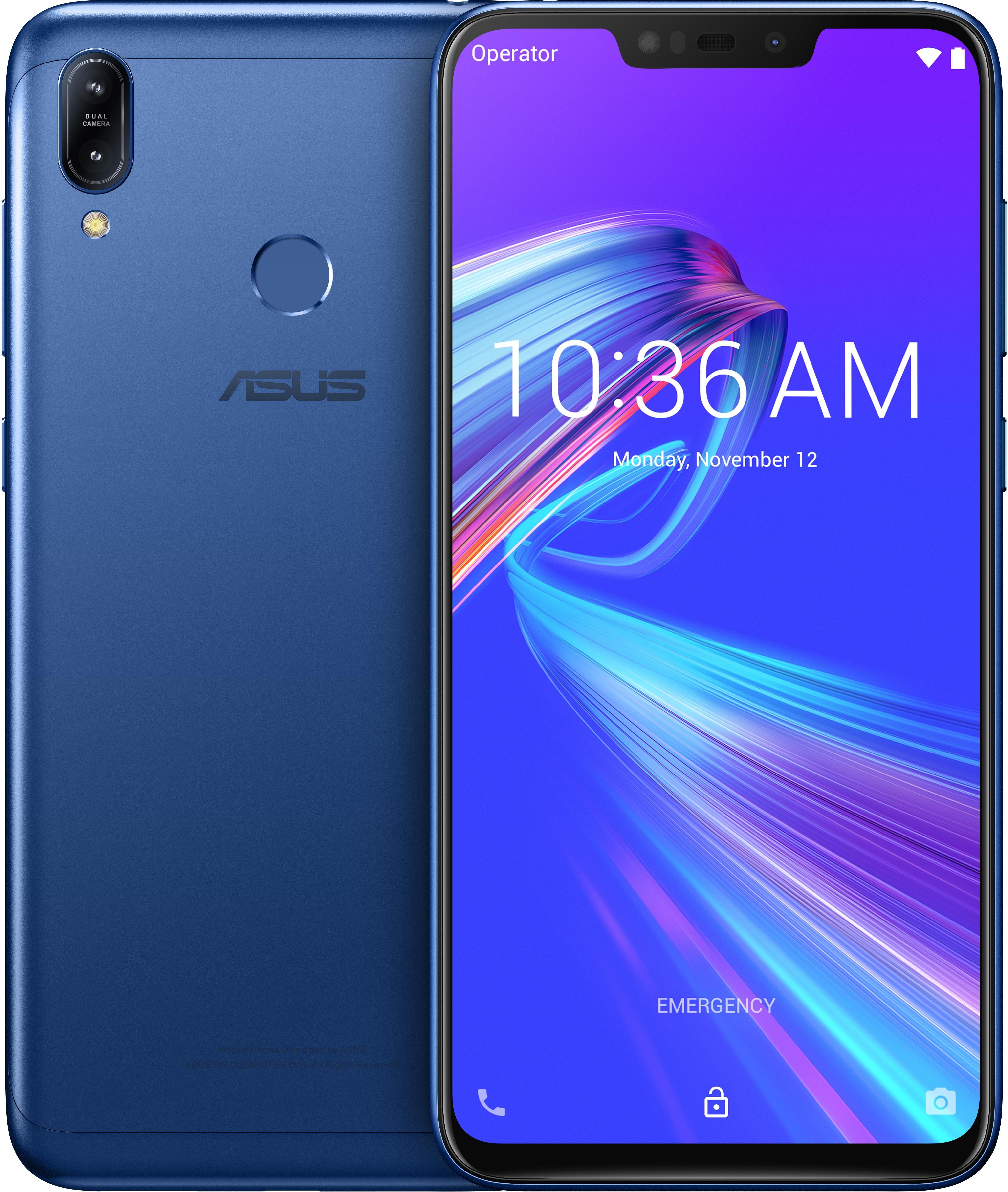 """ASUS ZenFone Max ZB633KL-4D071EU 16 cm (6.3"""") 4 Go 32 Go Double SIM 4G Bleu 4000 mAh"""