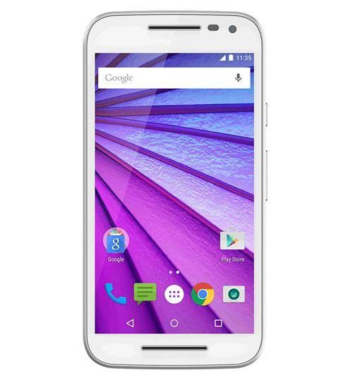 MOTOROLA Moto G 3e Génération - 8 Go - Blanc - Smartphone