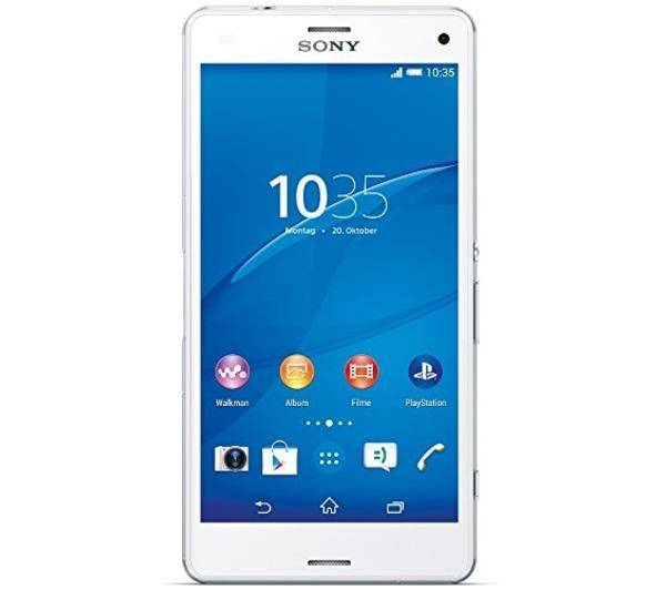 SONY Smartphone Xperia Z3 Compact 16Go 4G Blanc