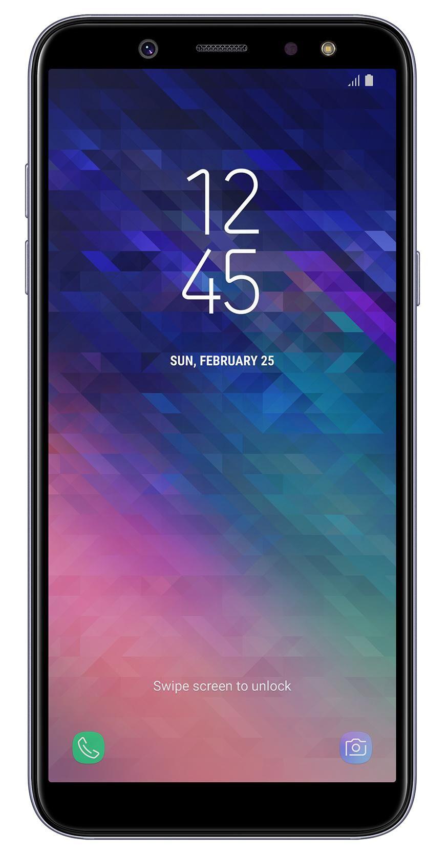 "SAMSUNG Galaxy A6 SM-A600F 14,2 cm (5.6"") 3 Go 32 Go Double SIM 4G Violet 3000 mAh"