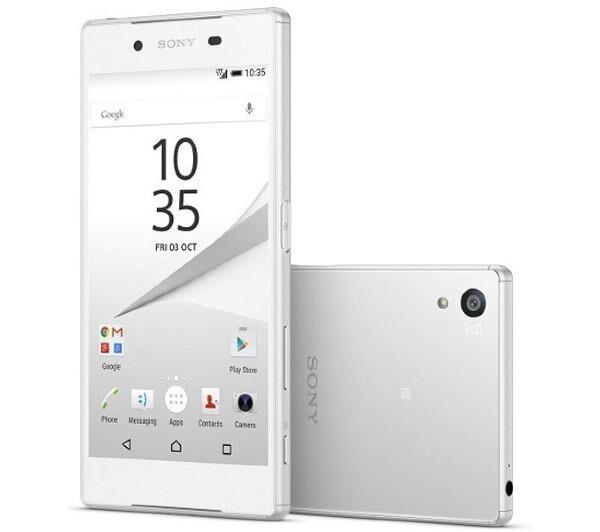 SONY Xperia Z5 E6633 - 32 Go - Blanc - Smartphone Dual SIM