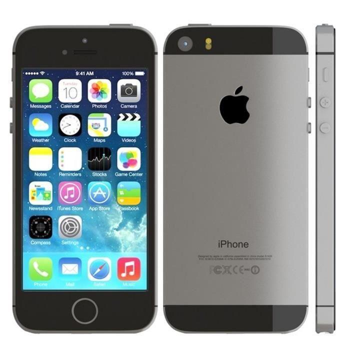 APPLE iPhone 5s - 16 Go - Gris Sidéral