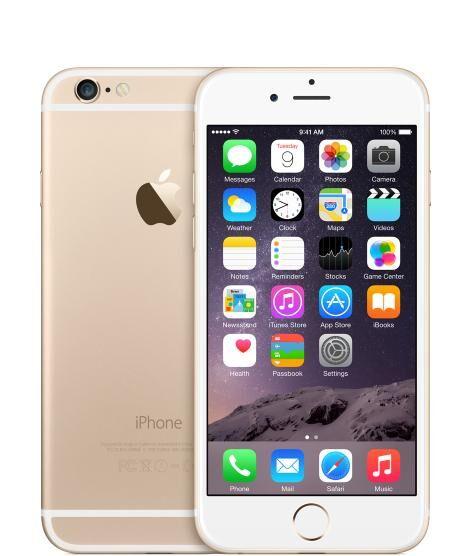 "REMADE Apple iPhone 6 11,9 cm (4.7"") 1 Go 16 Go SIM unique 4G Or Reconditionné"