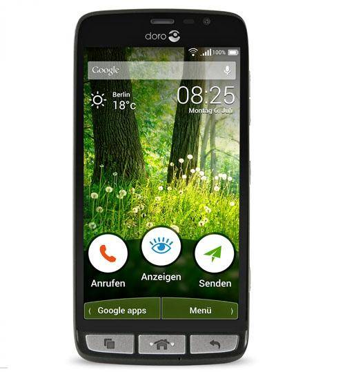 DORO Liberto 825 - 8 Go - Noir - Smartphone