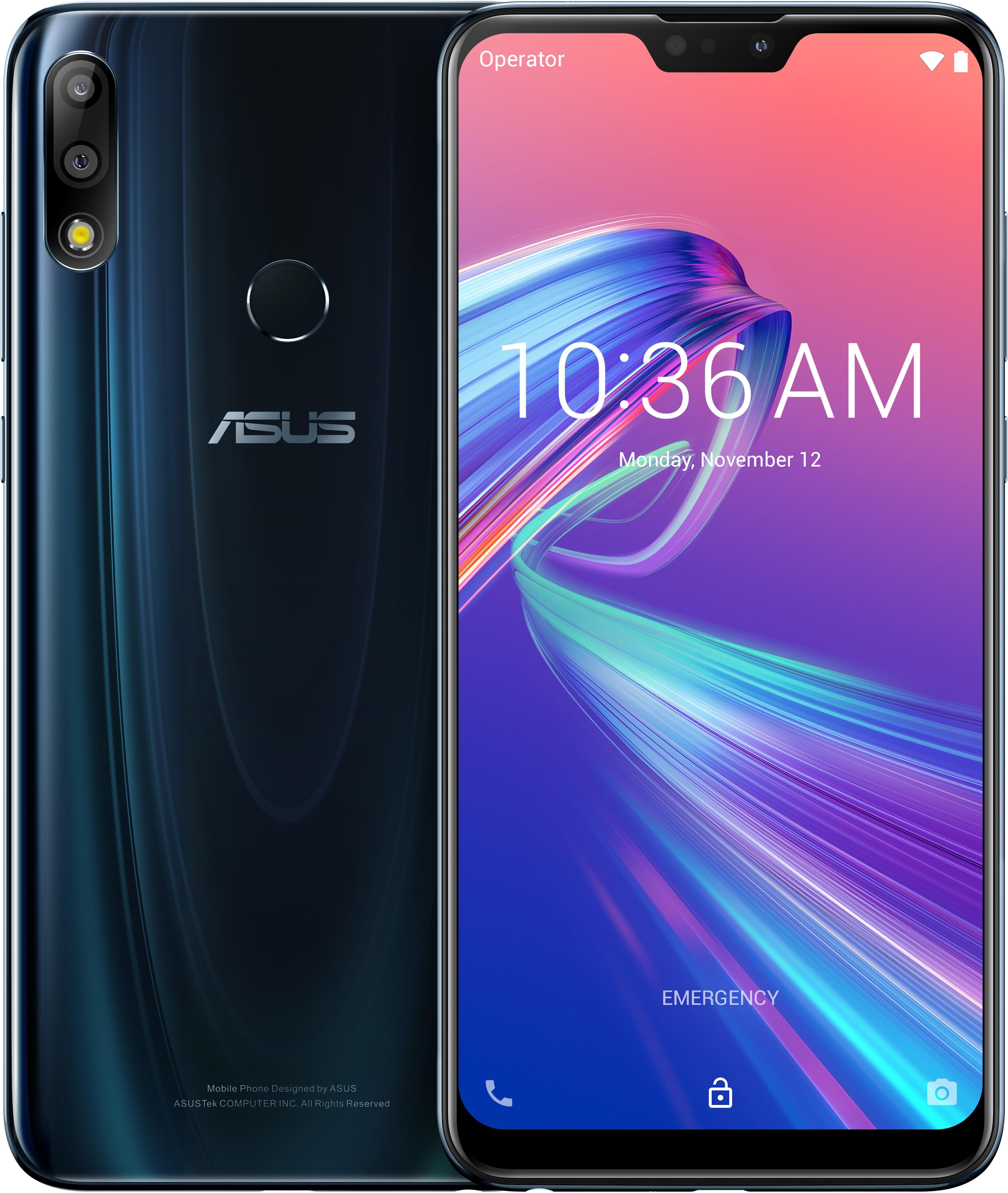 "ASUS ZenFone Max Pro (M2) ZB631KL-4D067EU 16 cm (6.3"") 6 Go 64 Go Double SIM 4G Bleu 5000 mAh"