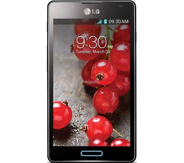 LG p 710 optimus l 7 ii noir