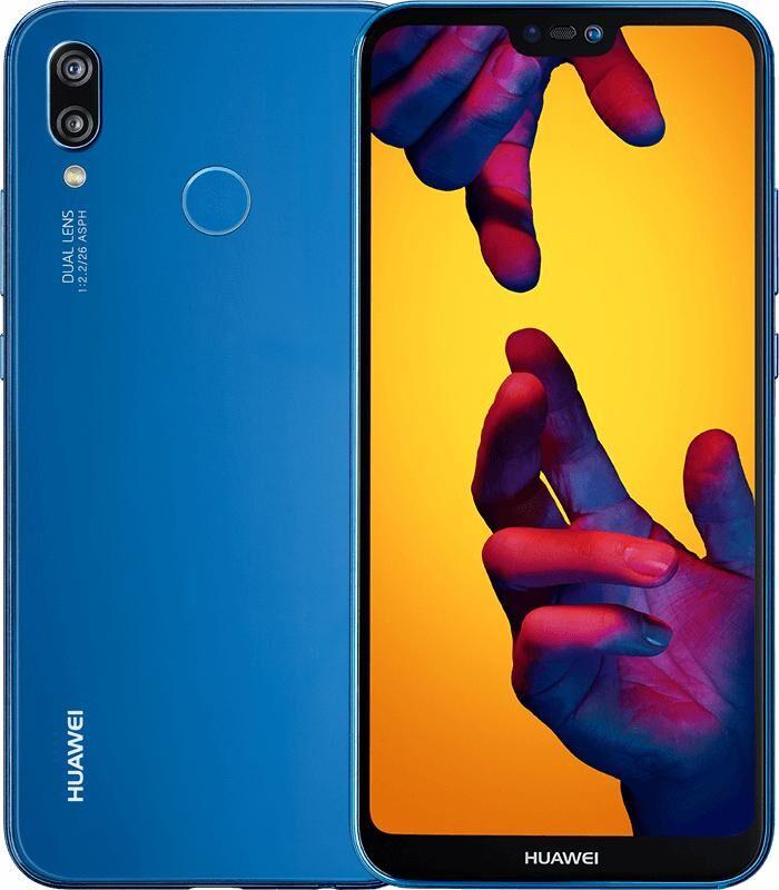 """HUAWEI P20 Lite 14,8 cm (5.84"""") 4 Go 64 Go SIM unique 4G Noir, Bleu 3000 mAh"""