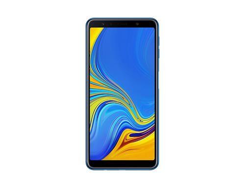 "SAMSUNG Galaxy A7 (2018) SM-A750FN 15,2 cm (6"") 4 Go 64 Go Double SIM 4G Bleu 3300 mAh"