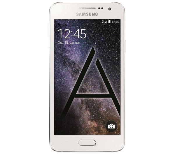 SAMSUNG Galaxy A3 - blanc - 16 Go - 4G - Smartphone