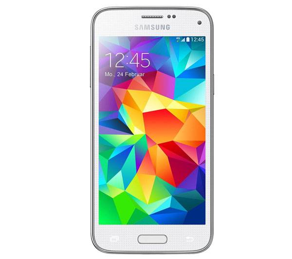 SAMSUNG Smartphone GALAXY S5 mini (SM-G800F) blanc, Android 4.4 11,4 cm (4,5 pouces) Quad Core (1.4GHz)
