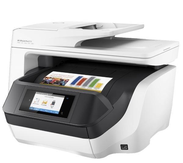HP Officejet Pro 8720 All-in-One - Imprimant multifonction jet d'encre couleur - réseau + sans fil