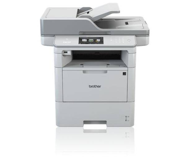BROTHER Imprimante Multifonction DCP-L6600DW laser monochrome 3-en-1 Recto-verso (USB 2.0/Ethernet/Wi-Fi/NFC)