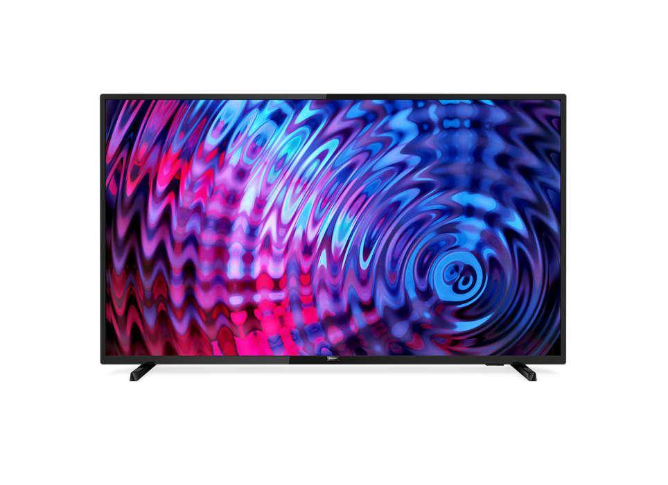 PHILIPS Smart TV LED Full HD ultra plat 43PFS5803/12