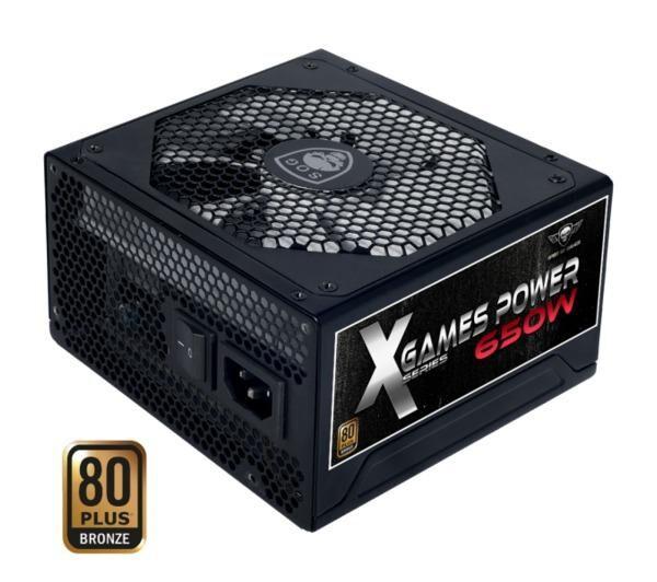 ADVANCE Alimentation PC SOG-650B X Games Power Series 650W 80+Bronze