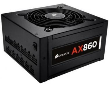 CORSAIR AX860 80Plus Platinum 860W ATX Noir unité d'alimentation d'énergie