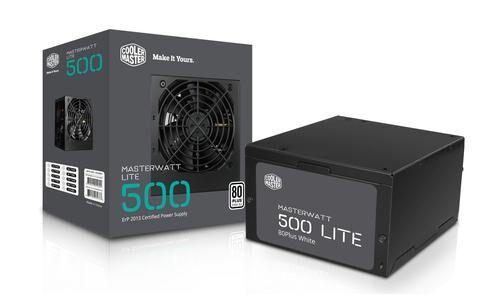 COOLER MASTER MasterWatt Lite 500W 500W ATX Noir unité d'alimentation d'énergie