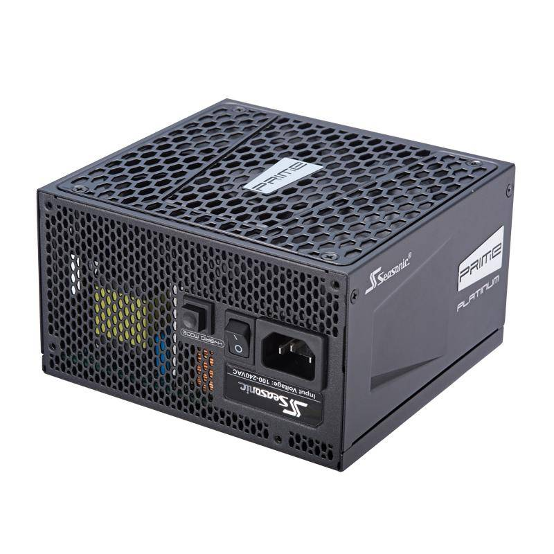 SEASONIC Prime Ultra Platinum unité d'alimentation d'énergie 750 W ATX Noir
