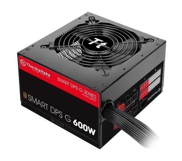 THERMALTAKE Alimentation PC Smart DPS G Bronze 600W ATX23 noir 600 Watt Cable Management, Active PFC, 80 PLUS Bronze