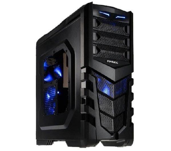 ANTEC GX 505 Window Blue - Noir - Boîtier PC