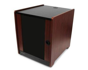 """StarTech.com Armoire serveur 12U non-assemblé avec une finition du bois - Profondeur de 20,6"""""""