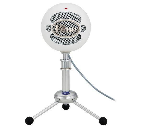 BLUE MICROPHONES Microphone USB Snowball White